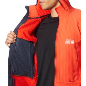 Mountain Hardwear Keele Ascent Hoodie Herren fiery red